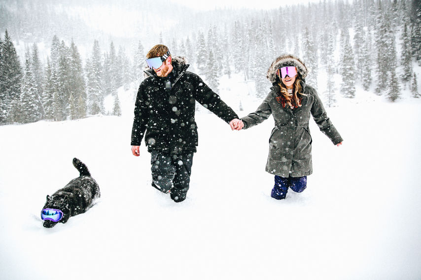Colorado Winter Engagement Session