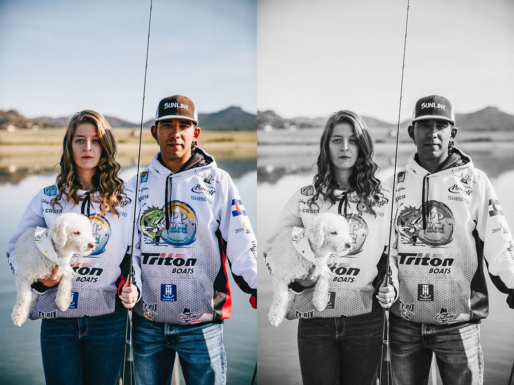 Pro Bass Fishing Engagement Session