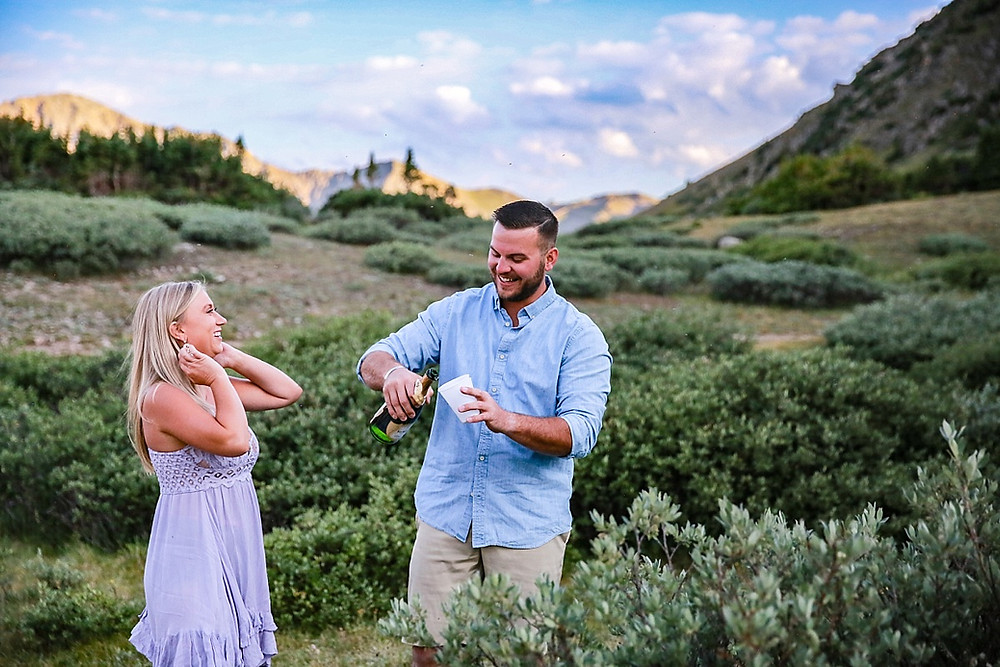 Summit Engagement Photographer