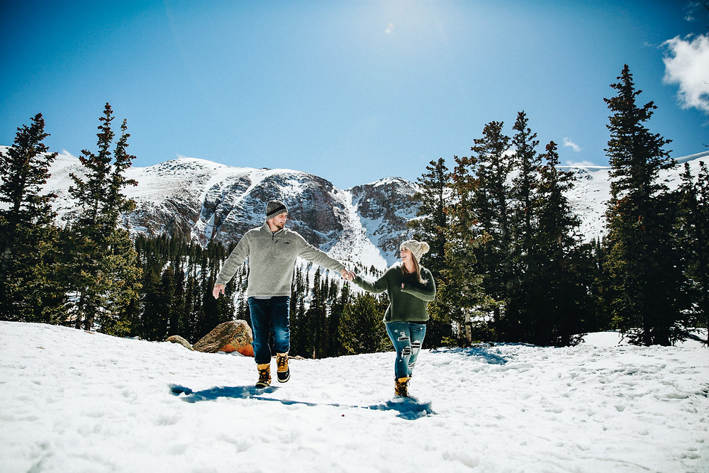 What to wear for Colorado Winter Engagement Photos