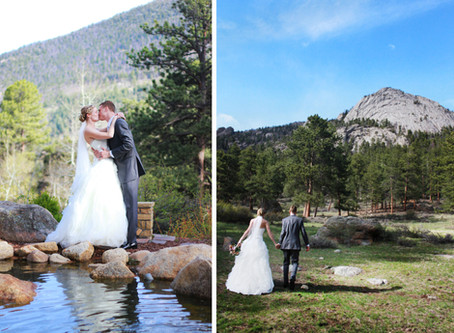 Della Terra Mountain Chateau Wedding - Mike + Kelly - Estes Park Wedding Photographer
