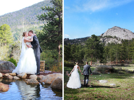 Della Terra Mountain Chateau Wedding - Mike + Kelly - Estes Park Wedding Photographer