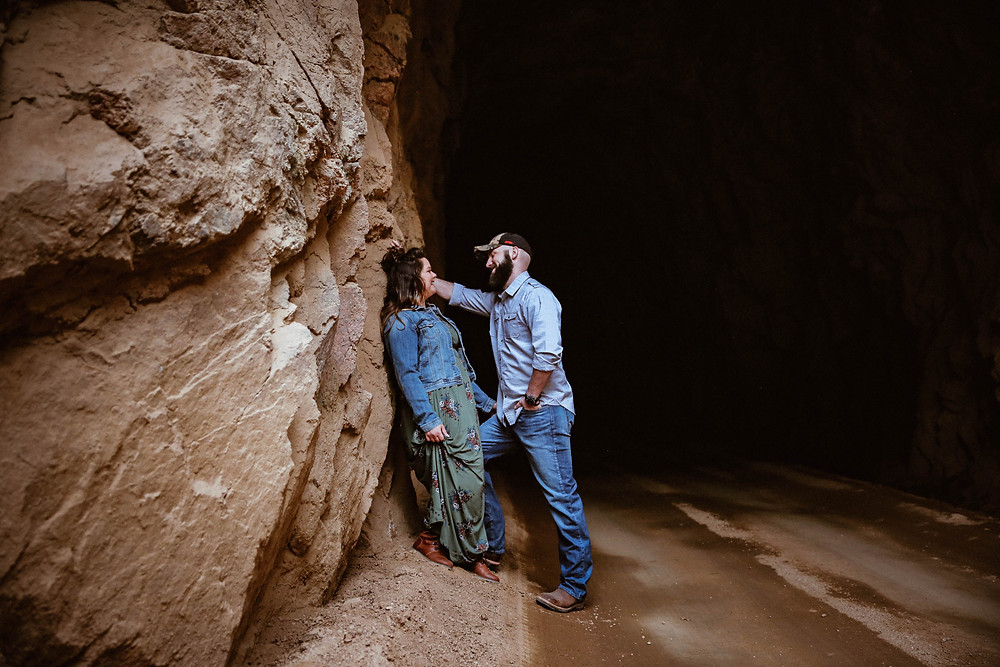 colorado mountain engagement sessions