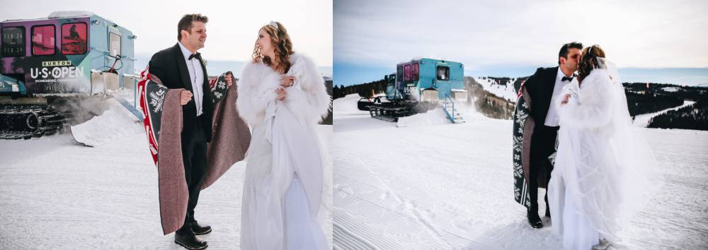 Winter Ski Wedding Aesthetic