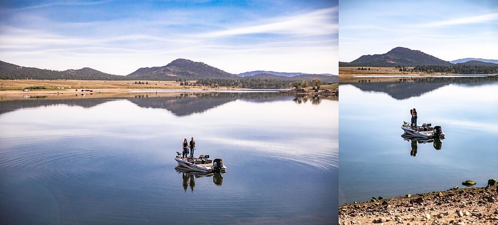 Denver Fishing Engagement Photographer