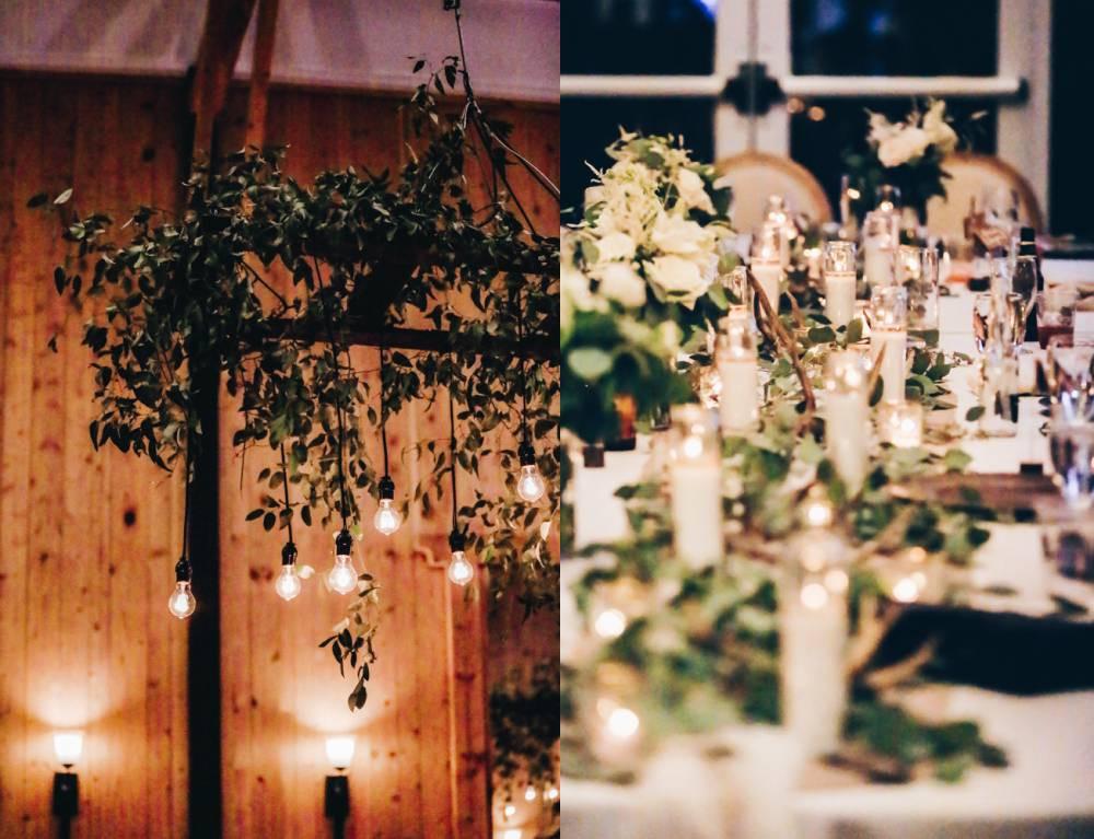 colorado wedding lighting