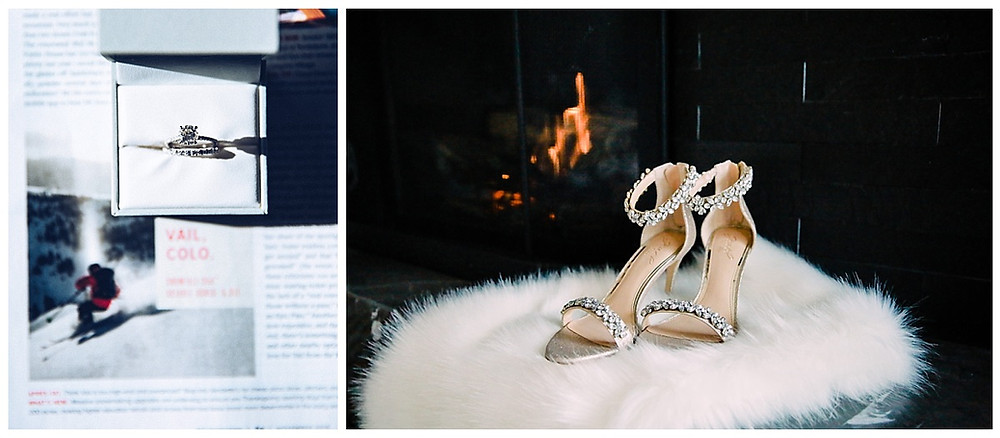 Vail Winter Wedding Detail Inspiration