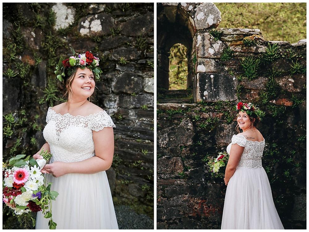 Flower Crown Wedding Piece
