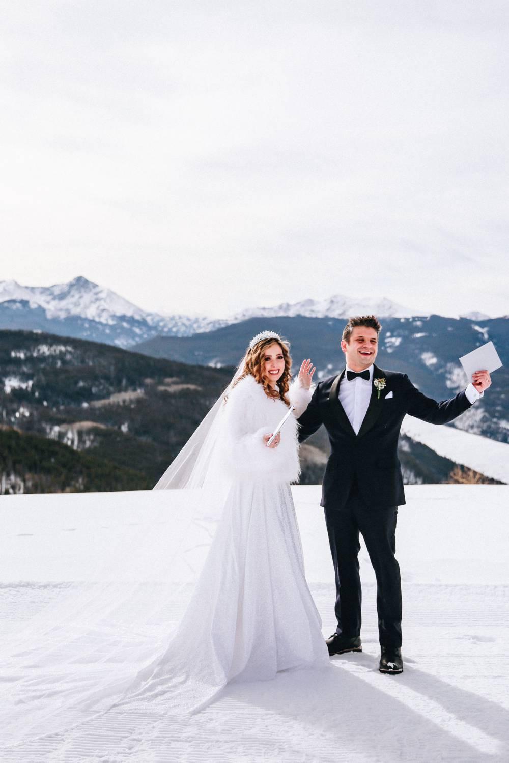 Colorado Winter Elopement Photography