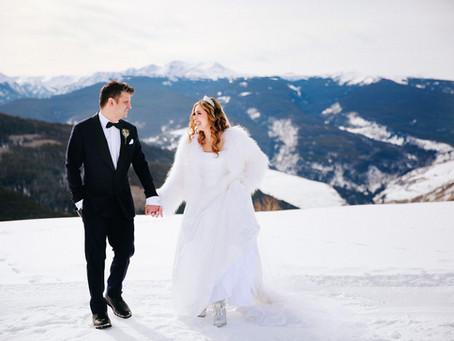 Nick + Ashley - Vail Winter Elopement - Colorado Wedding Photographer