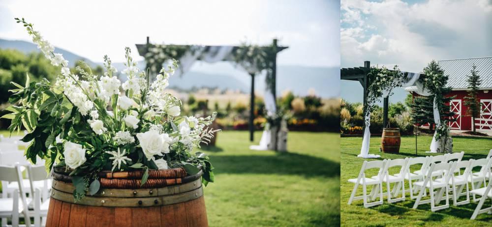 larkspur colorado wedding ceremony