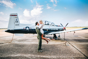 air force engagement session