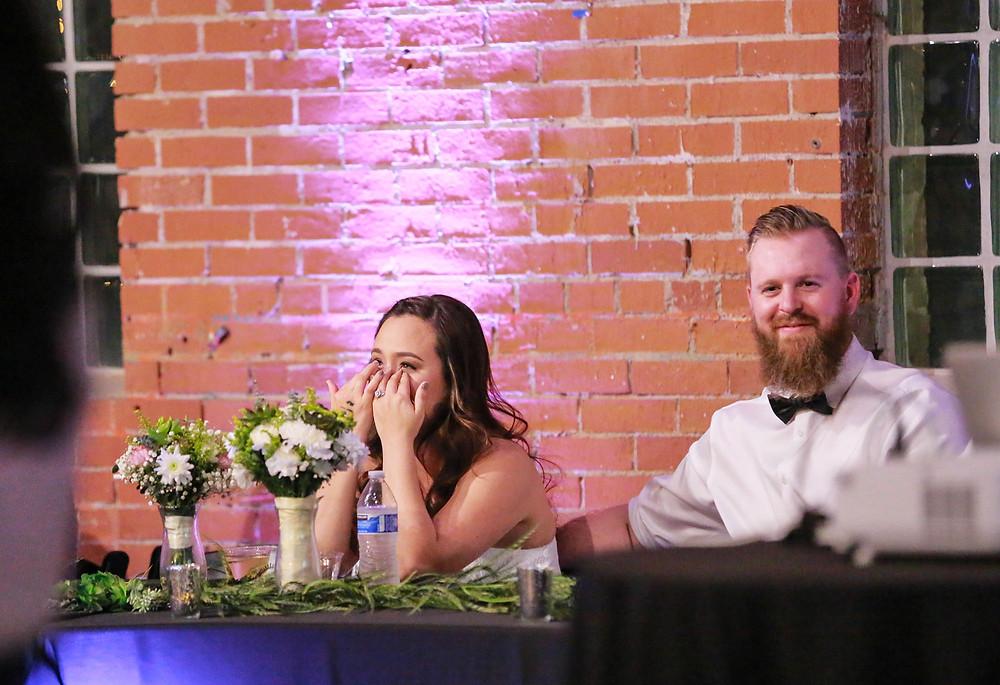 downtown phoenix wedding reception