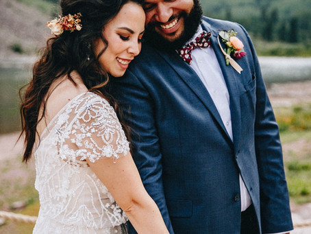 Maroon Bells Intimate Wedding - Richard + Stacy - Aspen Wedding Photographer