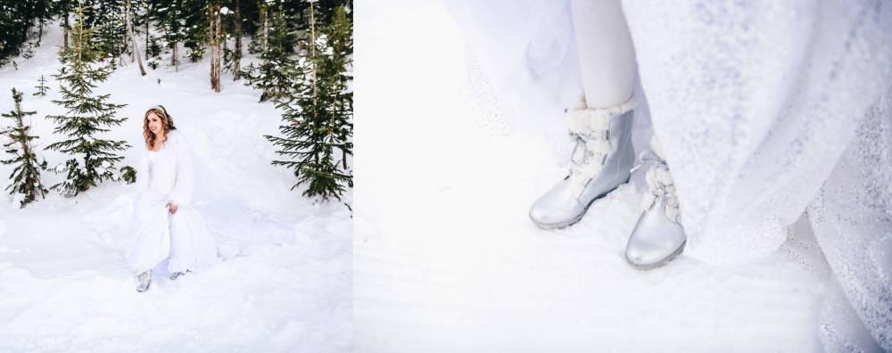 Ski Wedding Shoes