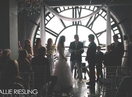 Clocktower Wedding Photography - Kim + Marie - Downtown Denver Wedding Photographer