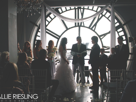 Clocktower Wedding Photography - Kim + Marie - Downtown Denver Wedding Photographer