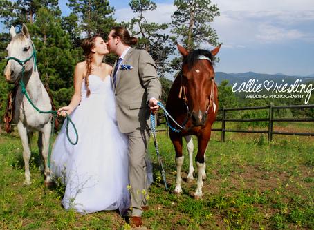 Colorado Mountain Bridal Session - Teo + Leslie - Evergreen Wedding Photographer