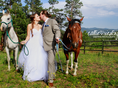 Colorado Mountain Bridal Session - Teo + Leslie - Evergreen Wedding Photographer