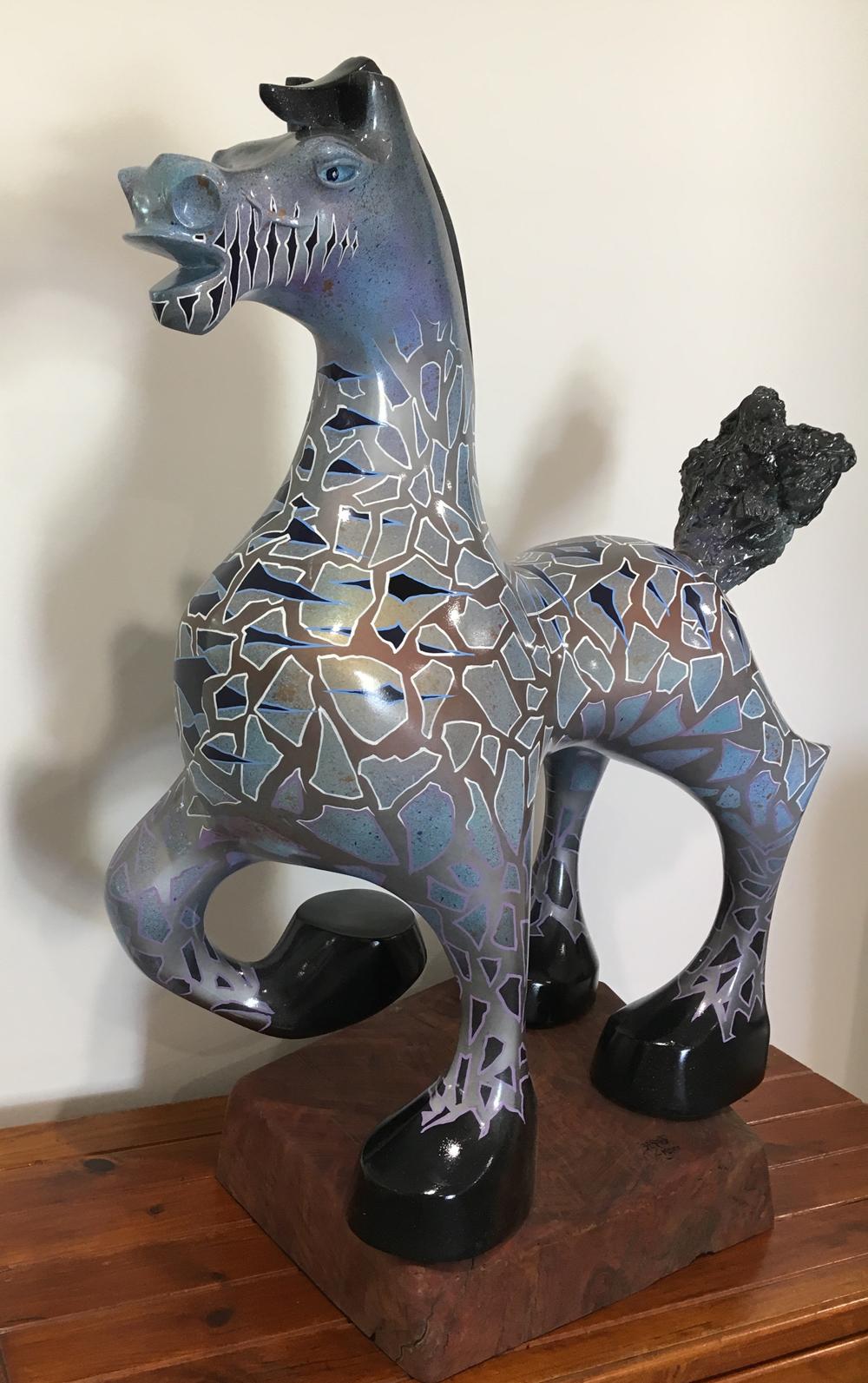BOLD BLUE HORSE (image 2)