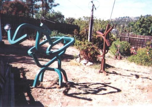 1980 Steel Sculpture