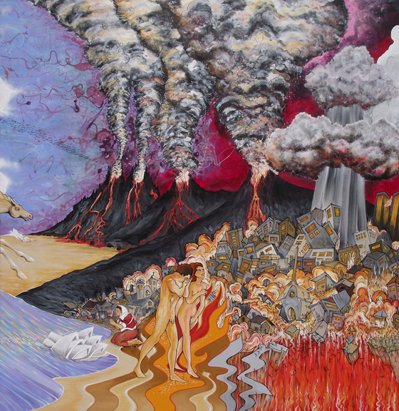 APOCALYPTO - Triptych Panel 2