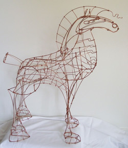 PROUD RED HORSE - SOLD