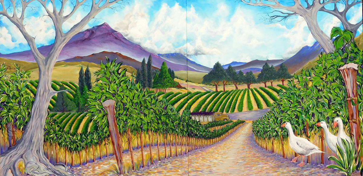 THE ALPINE VINEYARDS - SOLD