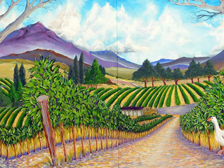 """THE ALPINE VINEYARDS"" H.Fish"
