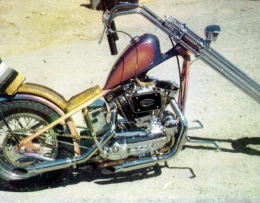 Sportster Harley Davidson hand made