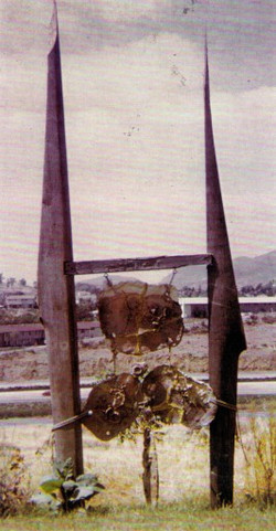 Large Sculpture  8 x 3 metres