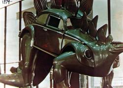1979 VW Stegasaurus Sculpture