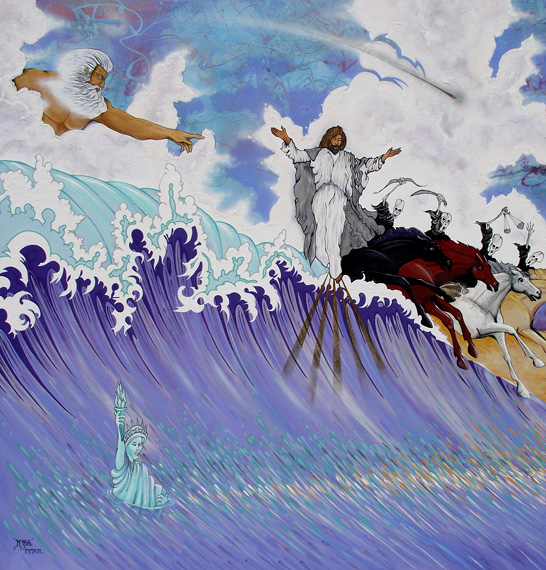 APOCALYPTO - Triptych Panel 1