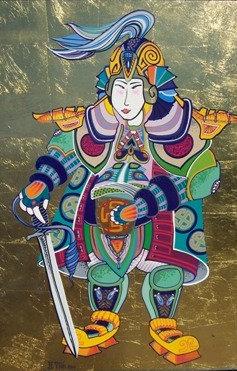 SAMURAI WITH SWORD