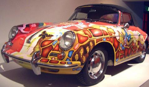 1969 Janis Joplin's '65 356 Porsche