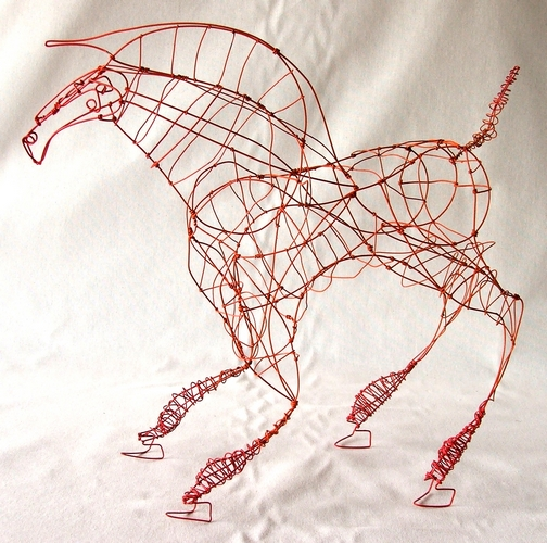 The Red Horse - SOLD