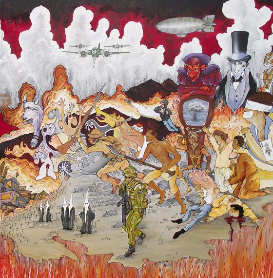 APOCALYPTO - Triptych Panel 3
