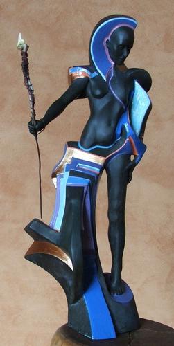 FEMALE GODDESS WARRIOR - SOLD SOLD