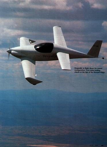 Dragonfly - handbuilt plane