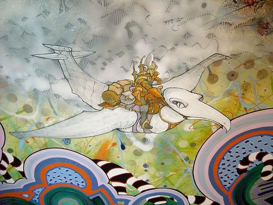 H.Fish contemporary, pop surrealism, international Australian artist