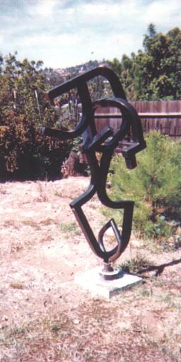 1982 Steel Sculpture