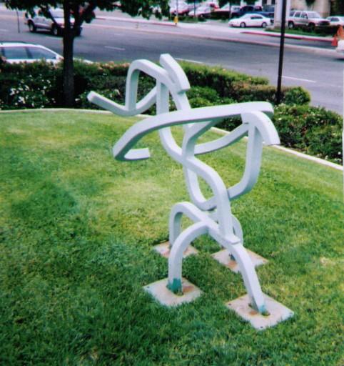 1983 Steel Sculpture