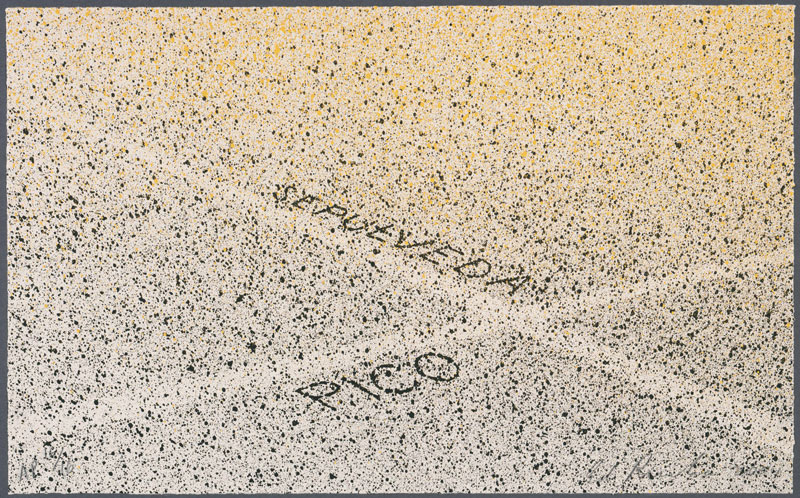 """""""The Boulevards of Heritage: Examining Ruscha's Pico and Sepulveda"""""""