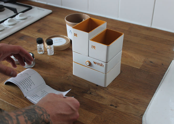 WOSH: A kitchen product that upcycles waste fat, oil and grease into natural soap.