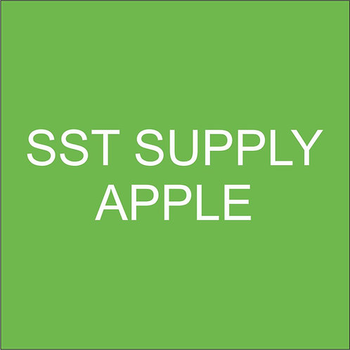 "SST VINYL 15""HEAT TRANSFER APPLE"