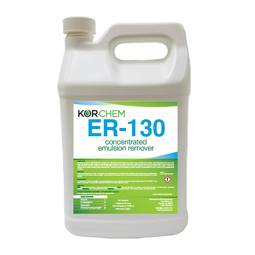 Kor-Chem ER-130 CONCENTRATE Emulsion Remover-GAL