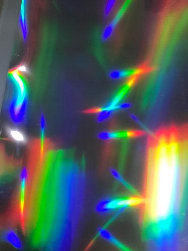 Silver Spectrum FOIL SHIRT VINYL