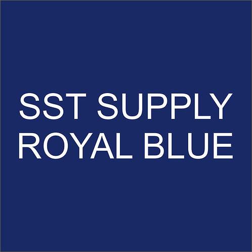 """SST VINYL 15""""HEAT TRANSFER Royal Blue"""