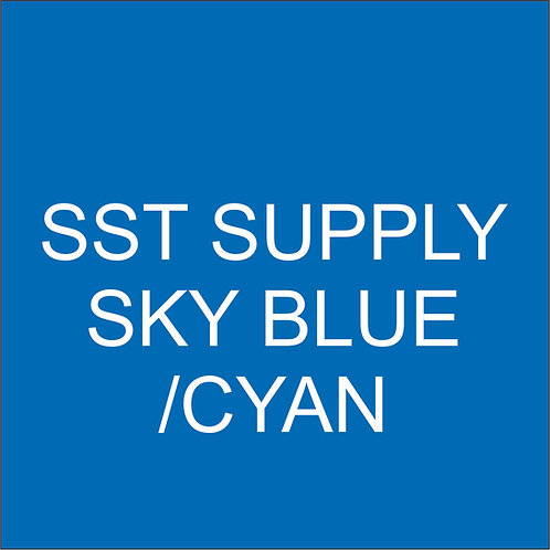 "SST VINYL 15""HEAT TRANSFER SKY BLUE"