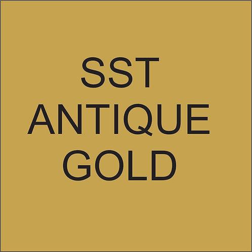 """SST VINYL 15""""HEAT TRANSFER Antique Gold"""